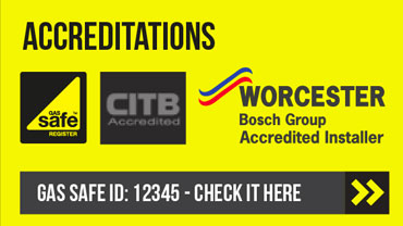 Gas Safe Registered, CITB Accredited, Worcester Installer
